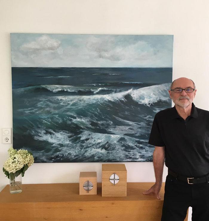 the interior designer Peter Maly