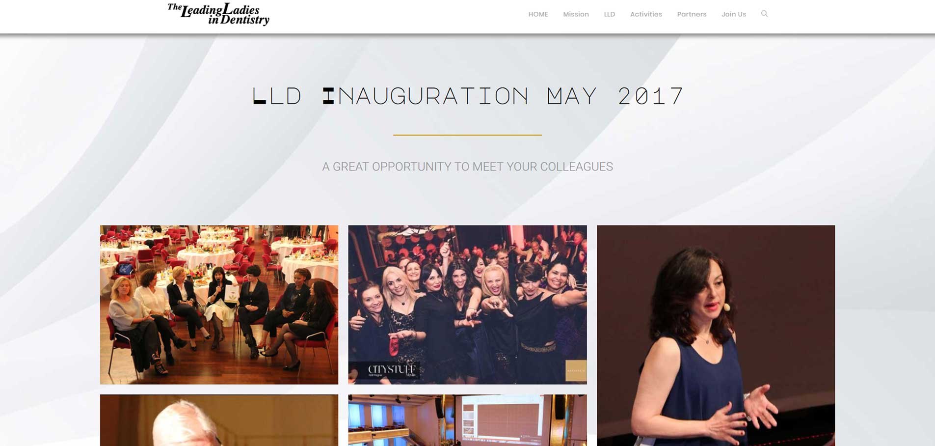 LLD events web page