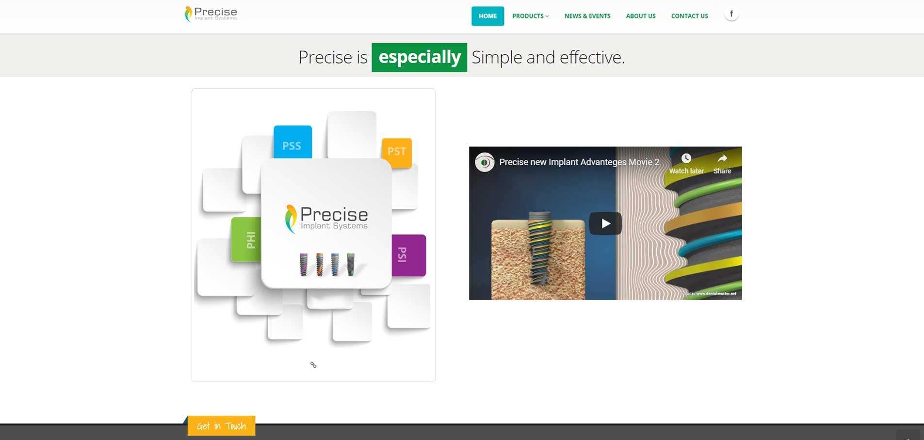 PRECISE homepage