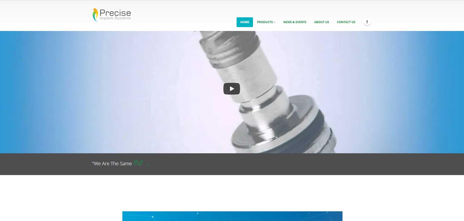 Precise webpage1