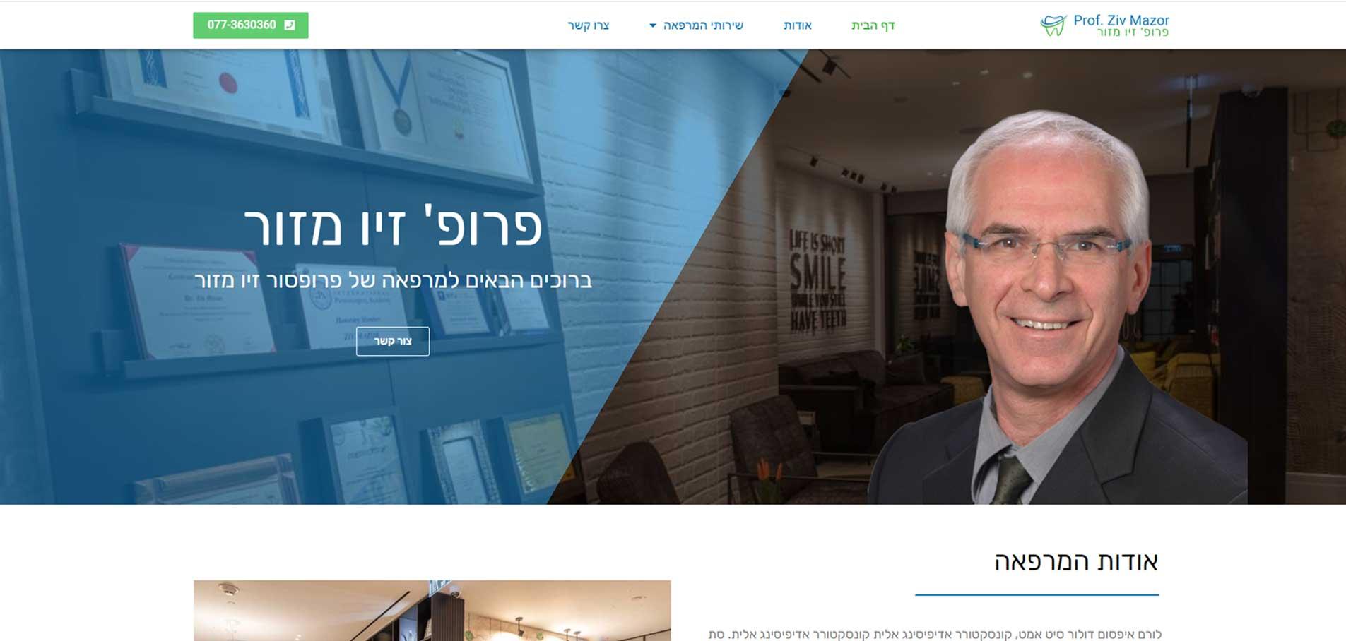 Ziv Mazor website B