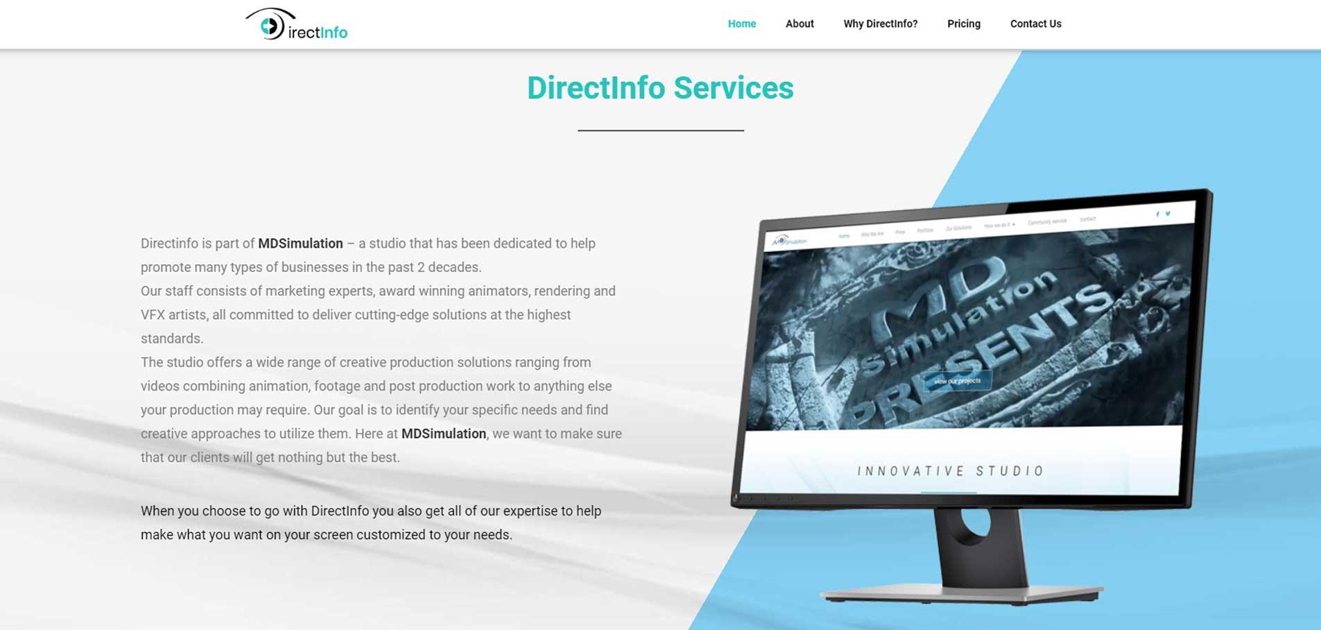 DirectInfo-website E