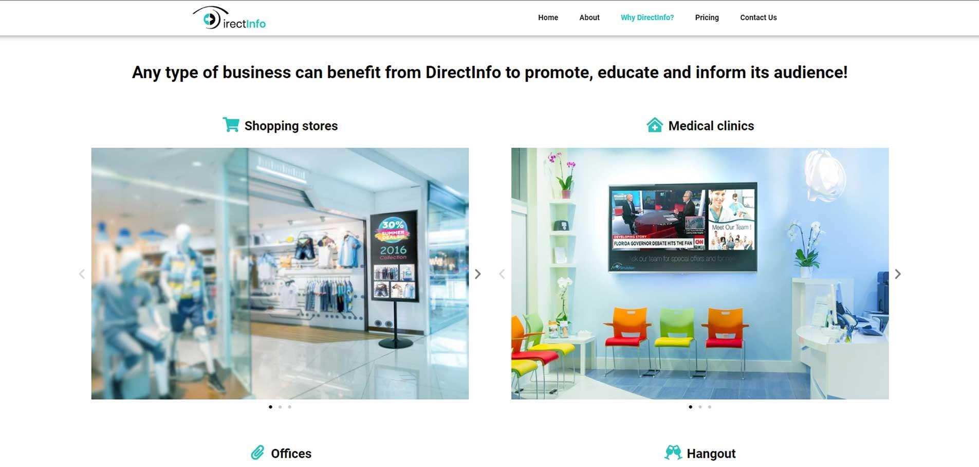 DirectInfo-website F