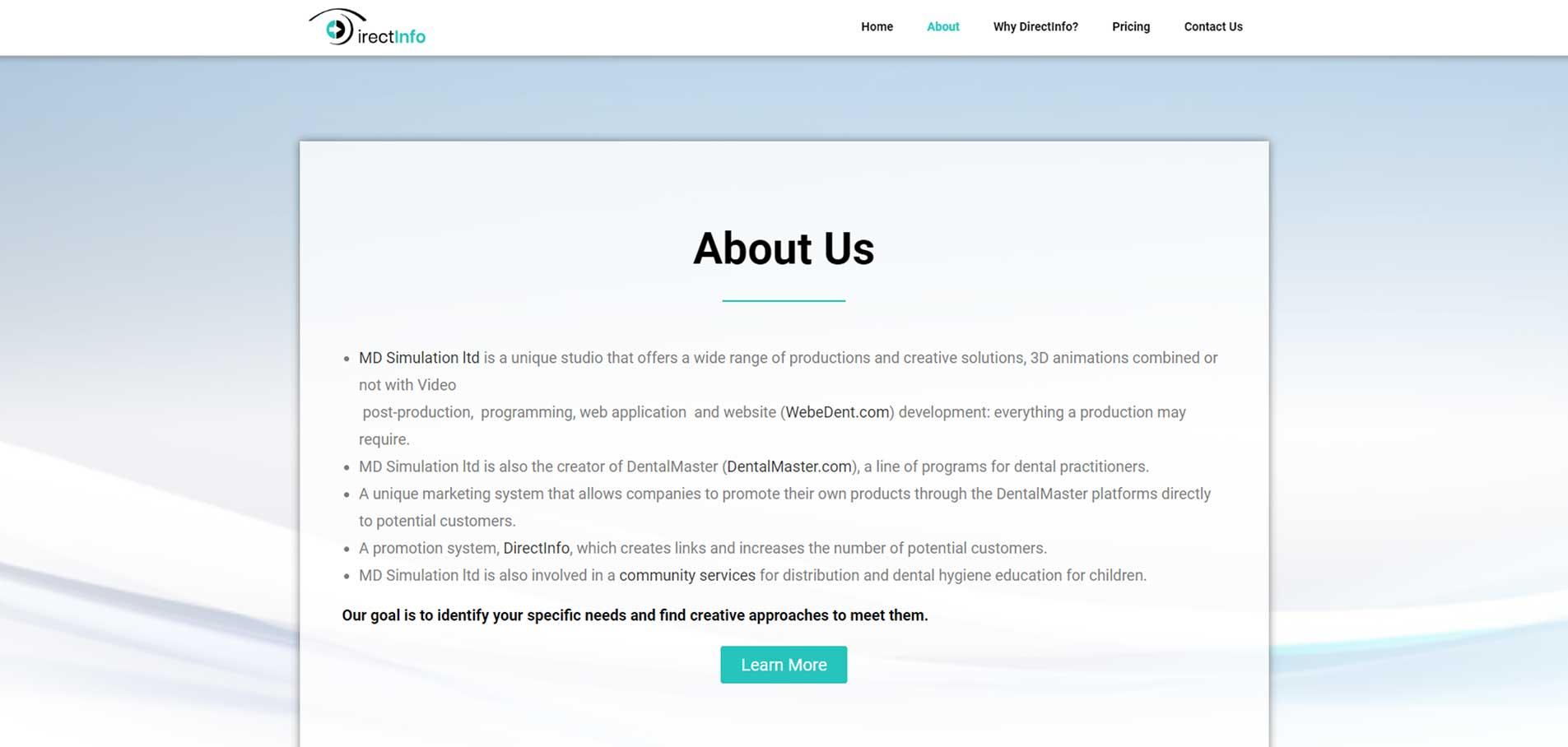 DirectInfo-website B
