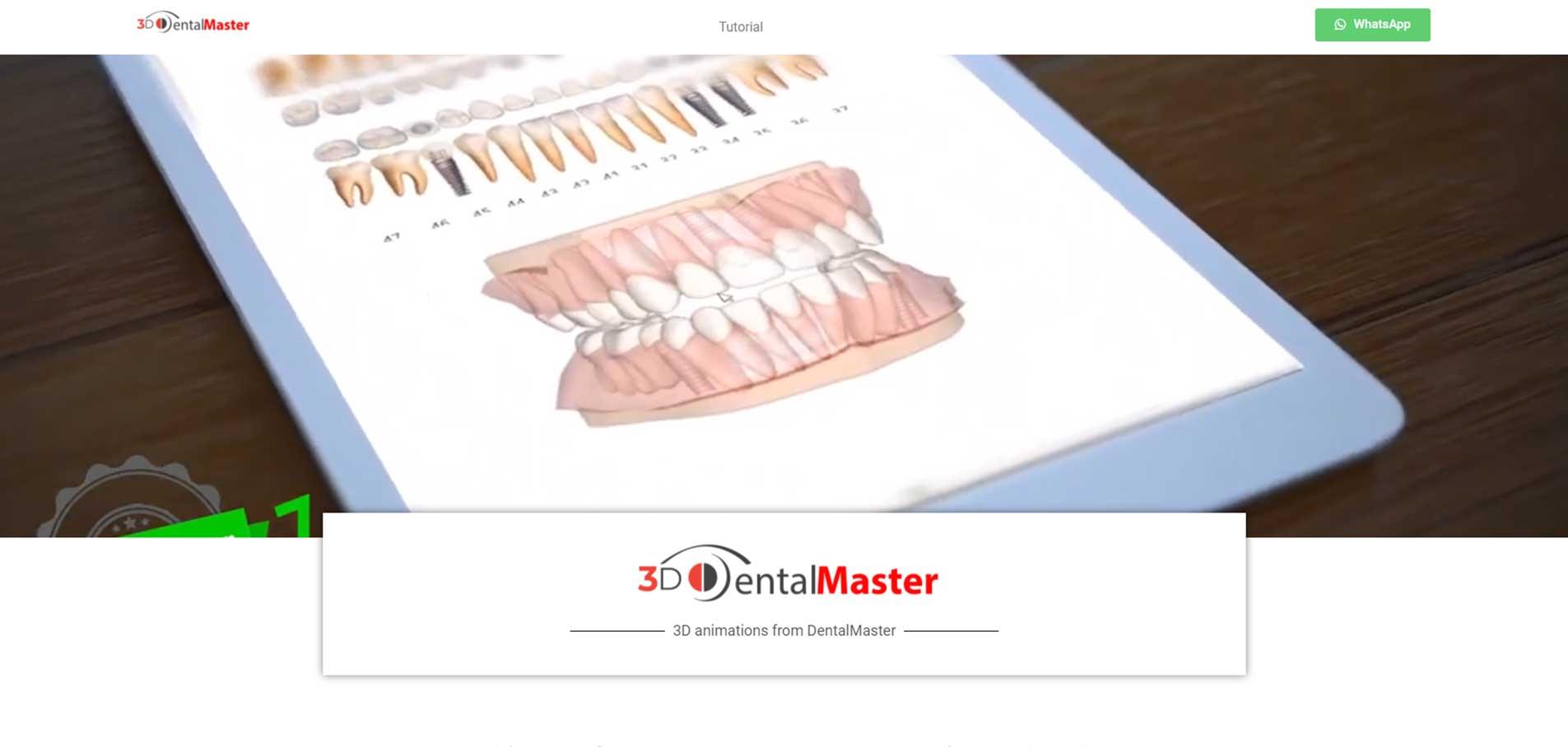 3d-DentalMaster website