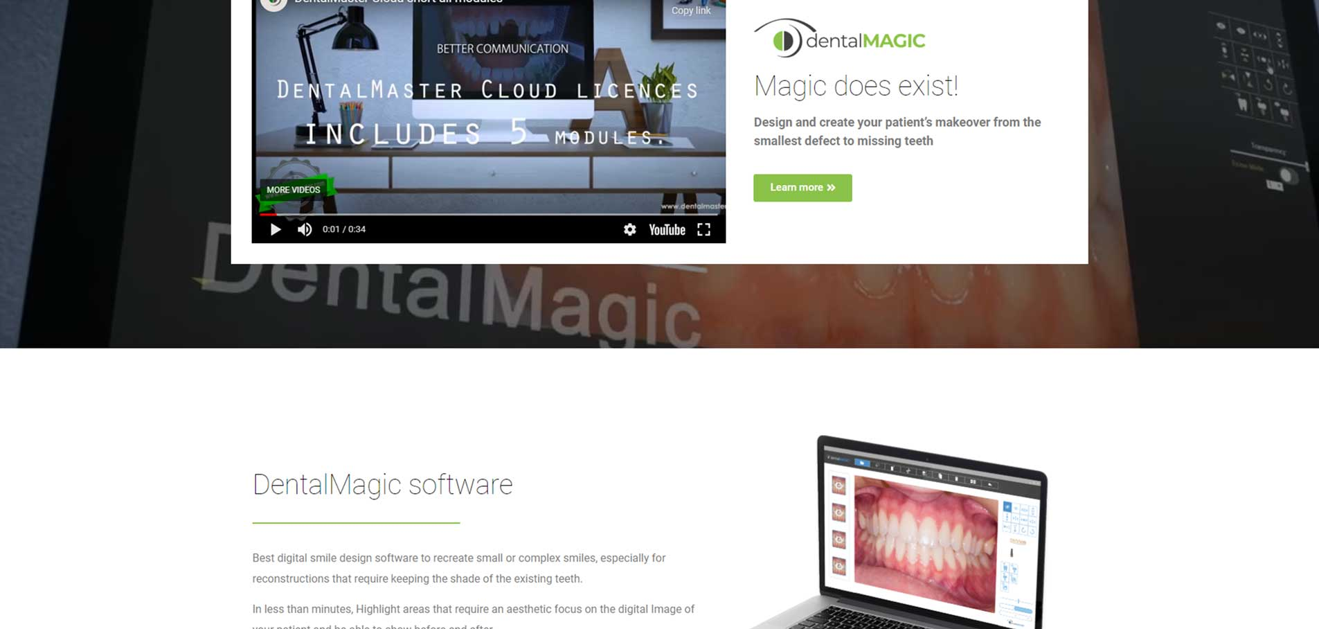 IDentalMagic-website